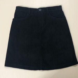 Brandy Melville Corduroy Mini Skirt SZ XS